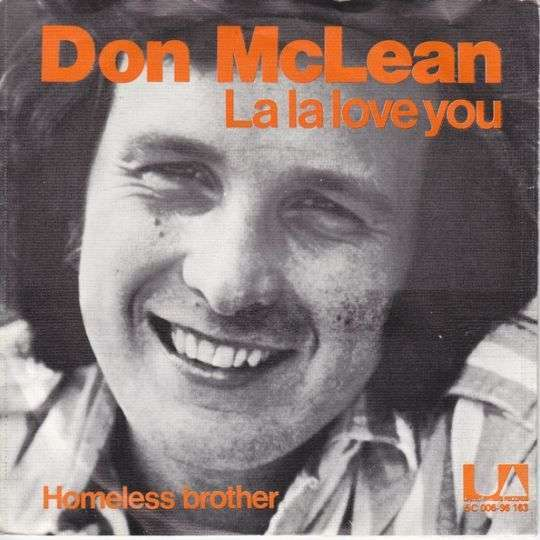 Coverafbeelding Don McLean - La La Love You