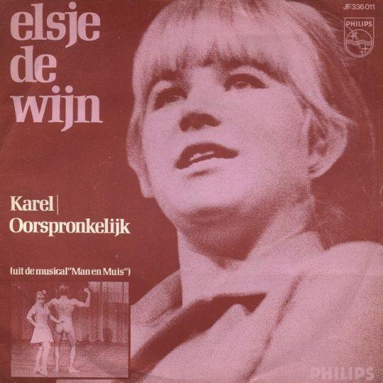 Coverafbeelding Elsje De Wijn - Karel