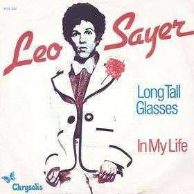 Coverafbeelding Leo Sayer - Long Tall Glasses