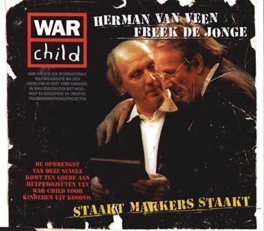 Coverafbeelding Staakt Makkers Staakt - Herman Van Veen & Freek De Jonge