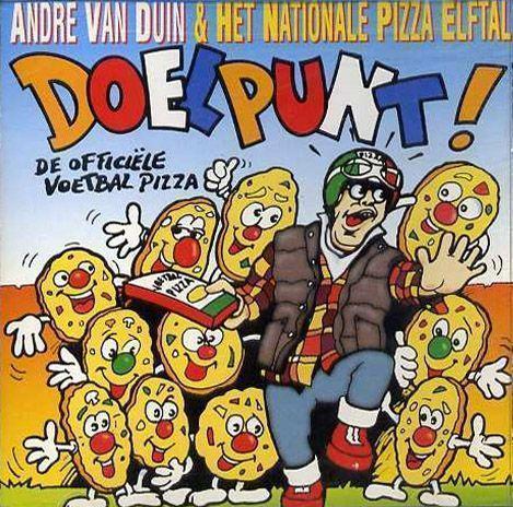 Coverafbeelding Doelpunt! - De Offici�le Voetbal Pizza - Andr� Van Duin & Het Nationale Pizza Elftal