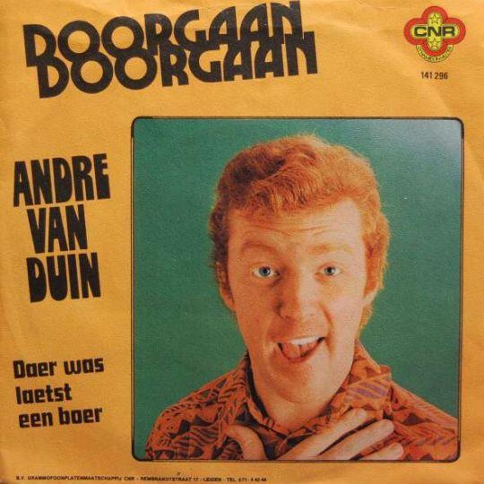 Coverafbeelding Doorgaan - Andre Van Duin