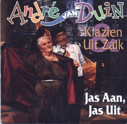 Coverafbeelding Jas Aan, Jas Uit - Andr� Van Duin & Klazien Uit Zalk