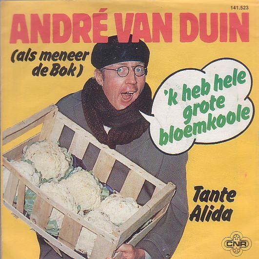 Coverafbeelding 'k Heb Hele Grote Bloemkoole - Andr� Van Duin (Als Meneer De Bok)