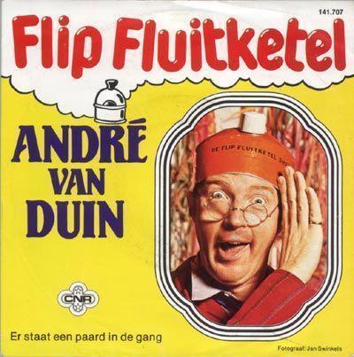 Coverafbeelding Flip Fluitketel/ Er Staat Een Paard In De Gang - André Van Duin