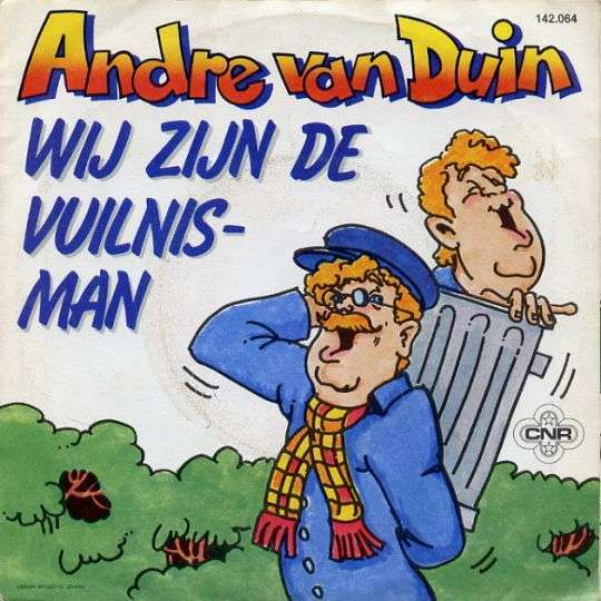 Coverafbeelding Wij Zijn De Vuilnisman - Andre Van Duin