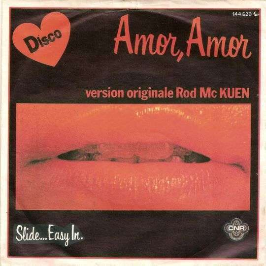 Coverafbeelding Amor, Amor - Rod Mc Kuen