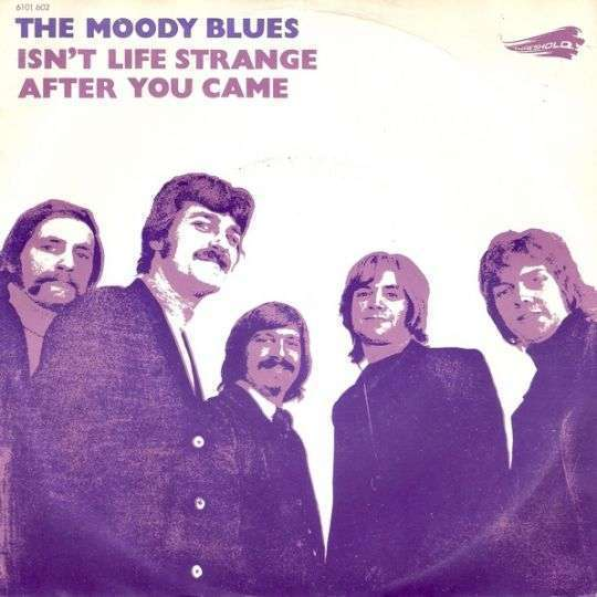 Coverafbeelding Isn't Life Strange - The Moody Blues
