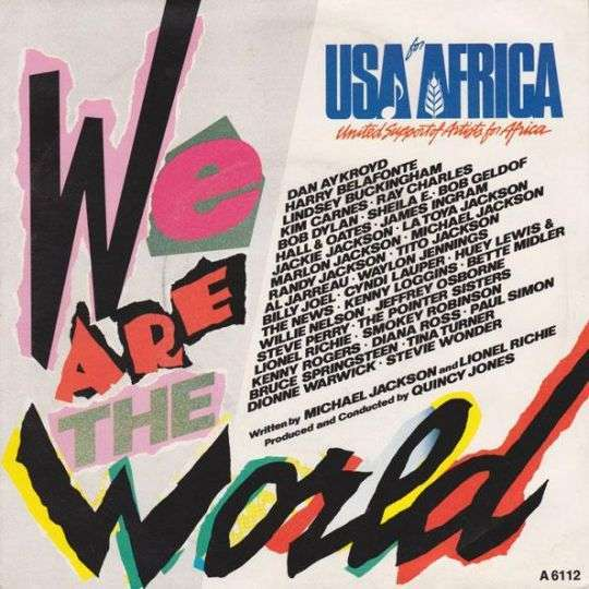 Coverafbeelding USA For Africa - We Are The World