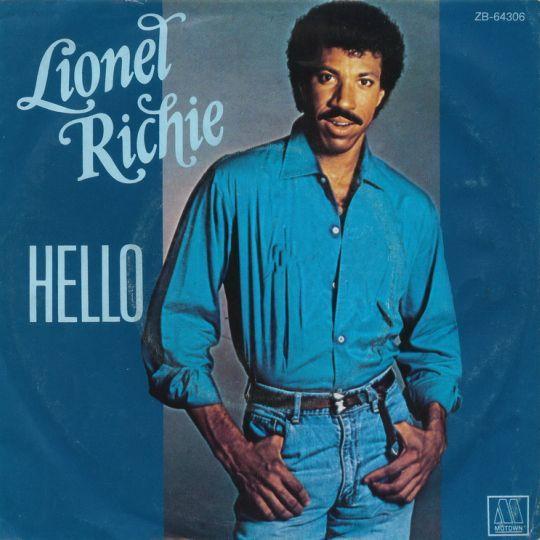 Coverafbeelding Hello - Lionel Richie