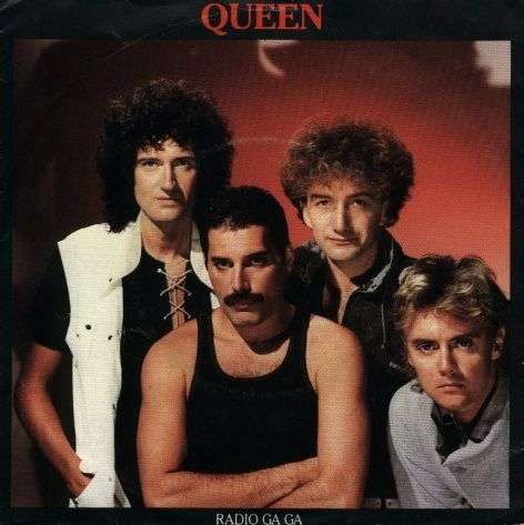 Coverafbeelding Radio Ga Ga - Queen