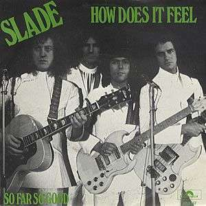 Coverafbeelding How Does It Feel - Slade
