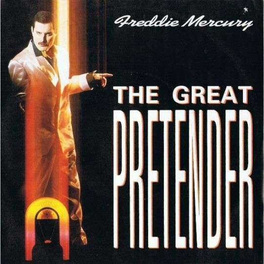 Coverafbeelding The Great Pretender - Freddie Mercury