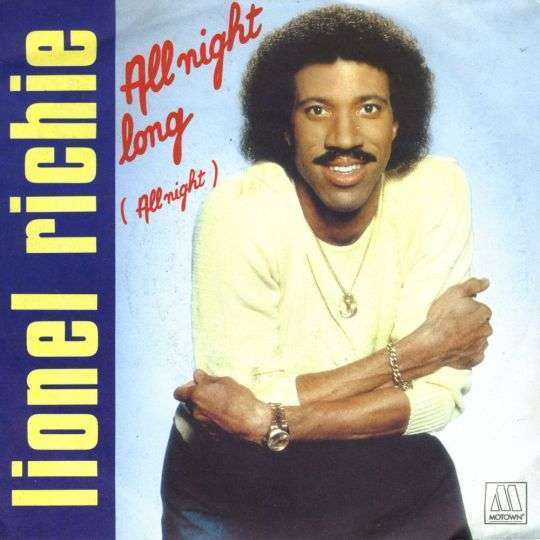 Coverafbeelding All Night Long (All Night) - Lionel Richie