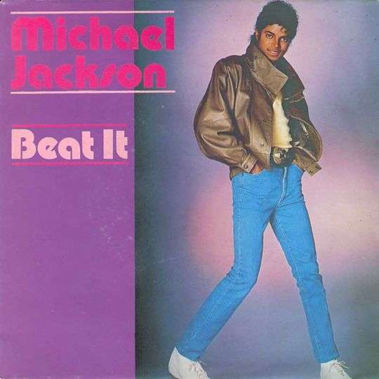 Coverafbeelding Beat It - Michael Jackson