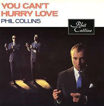 Coverafbeelding You Can't Hurry Love - Phil Collins