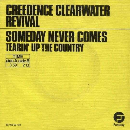 Coverafbeelding Someday Never Comes - Creedence Clearwater Revival