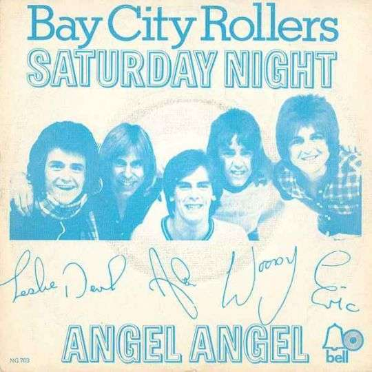 Coverafbeelding Saturday Night - Bay City Rollers