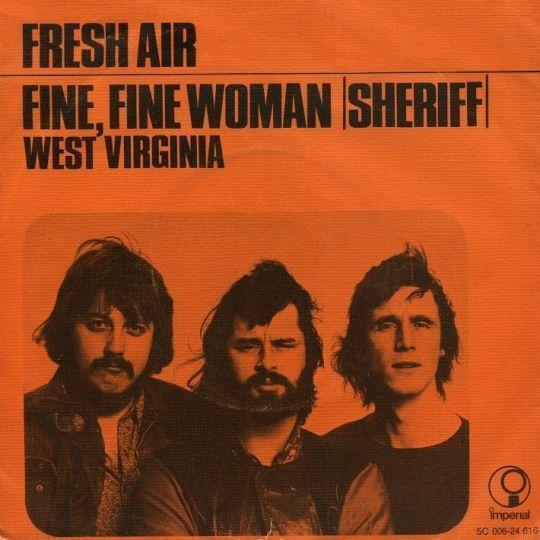 Coverafbeelding Fine, Fine Woman (Sheriff) - Fresh Air