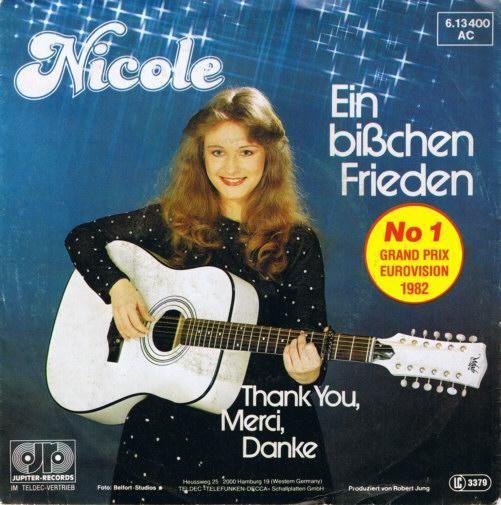 Coverafbeelding Ein Bi�chen Frieden// Een Beetje Vrede - Nicole