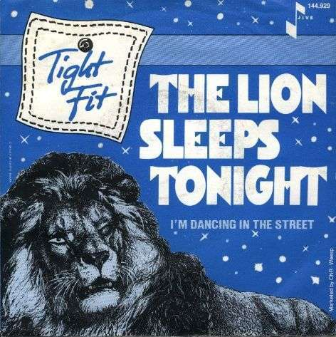 Coverafbeelding Tight Fit - The Lion Sleeps Tonight