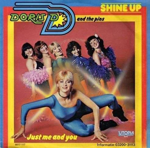 Coverafbeelding Shine Up - Doris D And The Pins