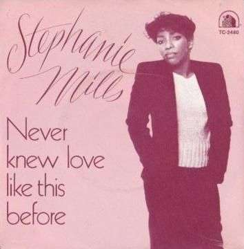 Coverafbeelding Stephanie Mills - Never Knew Love Like This Before