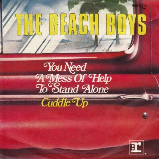 Coverafbeelding You Need A Mess Of Help To Stand Alone - The Beach Boys