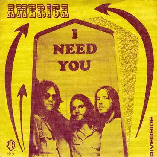 Coverafbeelding I Need You - America