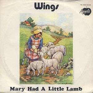 Coverafbeelding Mary Had A Little Lamb - Wings