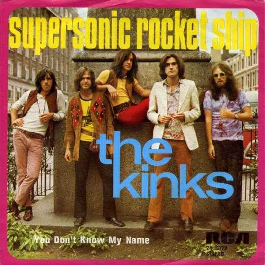 Coverafbeelding Supersonic Rocket Ship - The Kinks