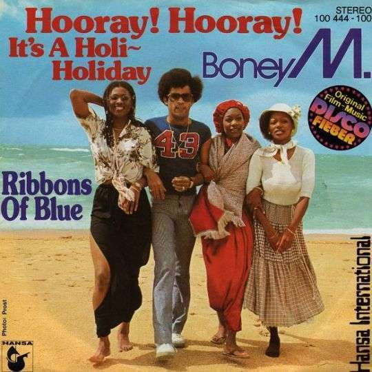 Coverafbeelding Hooray! Hooray! It's A Holi-Holiday - Boney M.