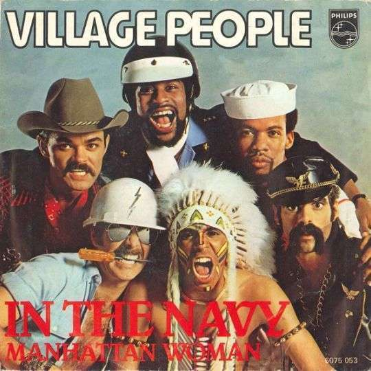 Coverafbeelding In The Navy - Village People