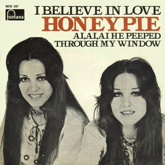 Coverafbeelding Honeypie - I Believe In Love