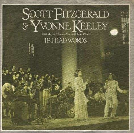 Coverafbeelding If I Had Words - Scott Fitzgerald & Yvonne Keeley With The St. Thomas Moore School Choir