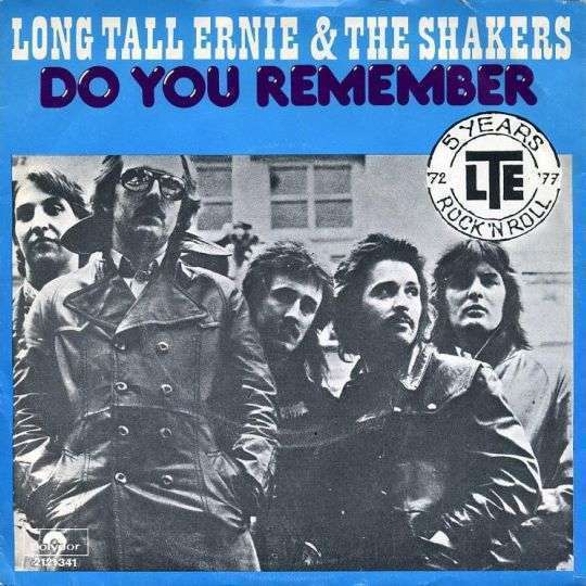 Coverafbeelding Do You Remember - Long Tall Ernie & The Shakers