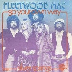 Coverafbeelding Go Your Own Way - Fleetwood Mac