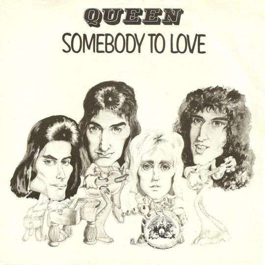 Coverafbeelding Somebody To Love - Queen