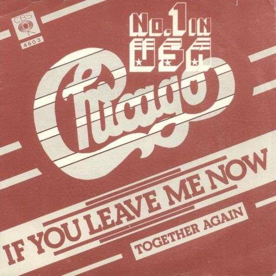 Coverafbeelding Chicago - If You Leave Me Now