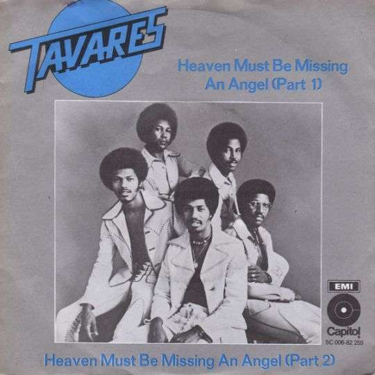 Coverafbeelding Heaven Must Be Missing An Angel - Tavares