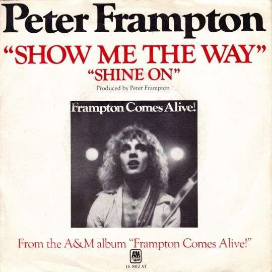 Coverafbeelding Peter Frampton - Show Me The Way