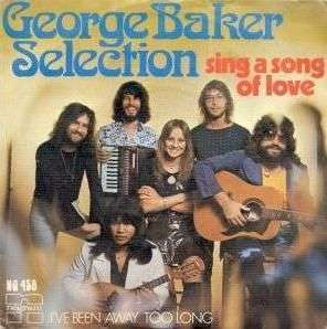 Coverafbeelding Sing A Song Of Love - George Baker Selection