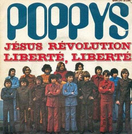 Coverafbeelding J�sus R�volution - Poppys