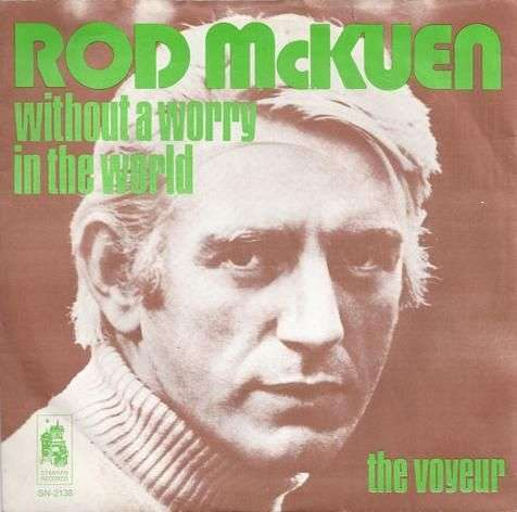 Coverafbeelding Without A Worry In The World - Rod Mckuen