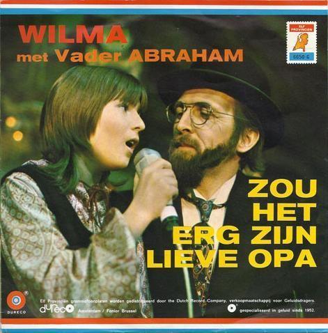 Coverafbeelding Zou Het Erg Zijn Lieve Opa - Wilma Met Vader Abraham