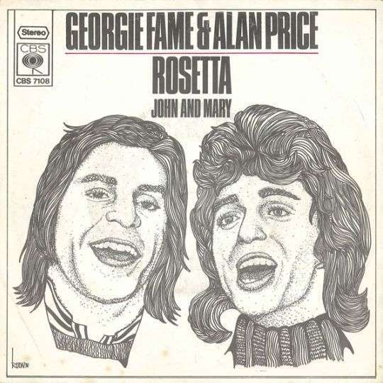 Coverafbeelding Rosetta - Georgie Fame & Alan Price