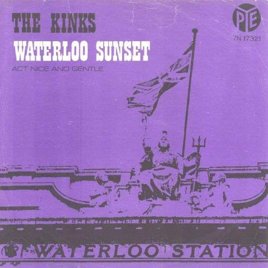 Coverafbeelding Waterloo Sunset - The Kinks
