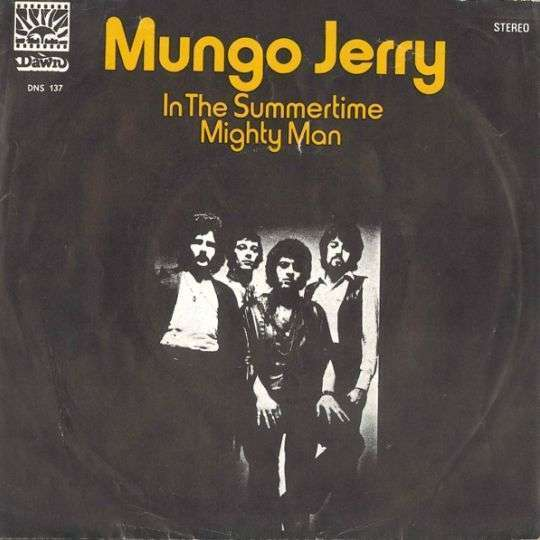 Coverafbeelding Mungo Jerry - In The Summertime