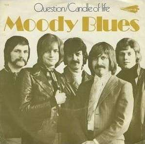 Coverafbeelding Question - Moody Blues