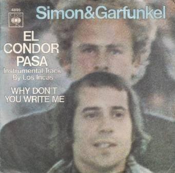 Coverafbeelding Simon & Garfunkel - instrumental track by Los Incas - El Condor Pasa